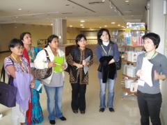 4 Tour of the Information Center for Women's Education